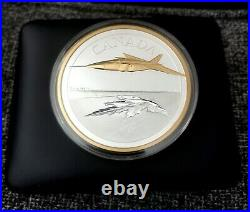 2021 Canada 5 oz. Pure Silver Coin The Avro Arrow 1000 Minted Worldwide