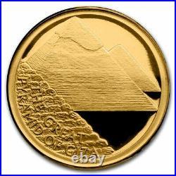 2021 Niue 1/10 oz Gold 7 Wonders of the World Great Pyramid SKU#235544