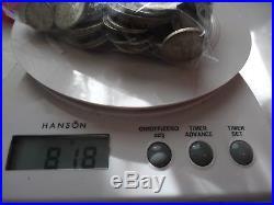 818g WORLD SILVER COINS