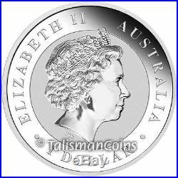 Australia 2017 Kookaburra Berlin World Money Fair Coin Show Special $1 Silver