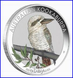 Australia 2021 Kookaburra Berlin World Money Fair WMF 1Oz Silver Perth OGP APMEX