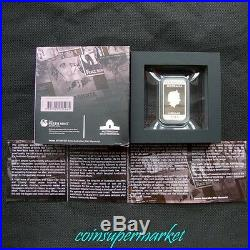 Australia Posters Of World War I Enlistment 2014 1oz Silver Proof Rectangle Coin