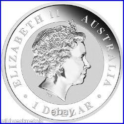 Australian 2016 Kookaburra Berlin World Money Fair Coin Show Special $1 Silver