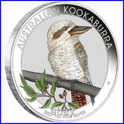 Australien 1 Dollar 2021 Kookaburra World Money Fair Berlin 1 Oz Silber ST