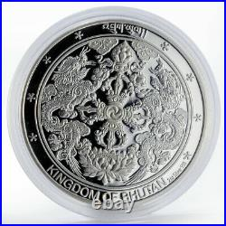 Bhutan 500 ngultrum Wonders of World Taj Mahal silver coin 2005