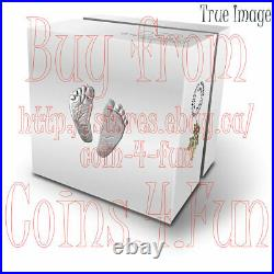 Born in 2020 Welcome to the World Baby Feet $10 Pure Silver Coin in Gift Box