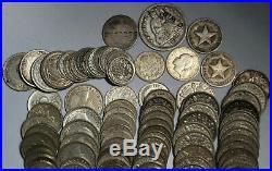 Bulk World Silver Coin Lot 100+ Massive Better Coins