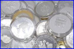 Bulk World Silver Proof 1oz 925 Sterling Coins in Capsules 1x 5 x 10x Bullion