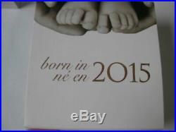 CANADA 2015 $10 Baby Feet WELCOME TO THE WORLD. 9999 Silver. 5oz Proof Coin GIFT