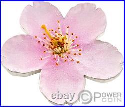 CHERRY BLOSSOM Shape World Enchanting Flower 1 Oz Silver Coin 2$ Niue 2021