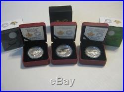 Canada $20 2015 / 2016 World War Aircraft Silver Coins