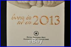 Canada 2013 $10 1/2 Silver Coin Welcome to the World