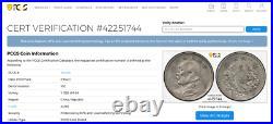 China 1914 10 Cents Y-326 Lm-66 Pcgs Au55 Yuan Shi Kai Silver World Coin