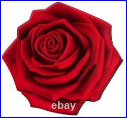 Enchanting Rose World Enchanting Flower 2021 $2 1 Oz Fine Silver Coin Niue