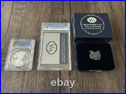 End of World War II 75th Anniversary American Eagle Silver Proof Coin PCGS PR69