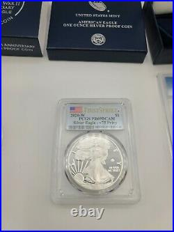 End of World War II 75th Anniversary American Eagle Silver Proof Coin PR69 #1