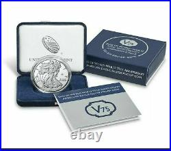 End of World War II 75th Anniversary American Eagle Silver Proof Coins