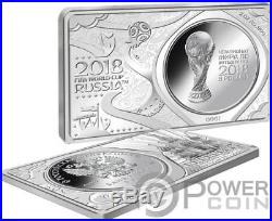 FIFA WORLD CUP 1 Oz Silver Coin 2 Oz Set Russia 2018