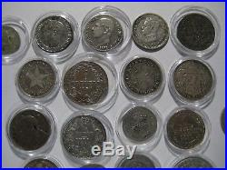 High Quality Small World Silver coins. Some very Rare. Most 80% + Silver content