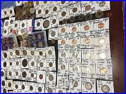 Huge Lot 400+Coin/Stamp/World-Silver Walking Half/1893/Mercury/VBuffalo/Indian+