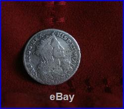 Italian States 20 Grana Tari Naples 1693 Silver World Coin Italy Carlos II