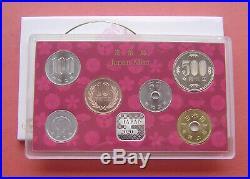Japan 2020 World Money Fair 1 Yen-500 Yen 6 Coins Mint Set With Silver Medal