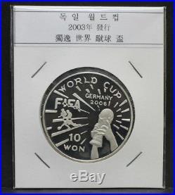 Korea 2003 Germany 2006 FIFA World Cup 1oz Silver Coin