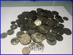 Lot Of 100+ World Silver Coins Nice Mixed World Coins 24 Oz Free Shipping