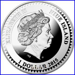 Love The World of Your Soul Proof Silver Coin 1$ Niue 2015