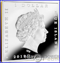 MILKMAID Vermeer Treasures of World 1 Oz Silver Coin 1$ Niue 2019