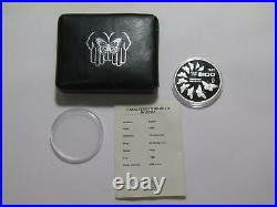 Mexico 1987 $100 Pesos Monarch Butterfly Dcam Proof Silver Gem World Coin