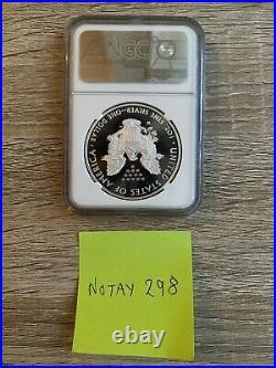 NGC PF70 2020 W End of World War II 75th Anniversary American Eagle V75