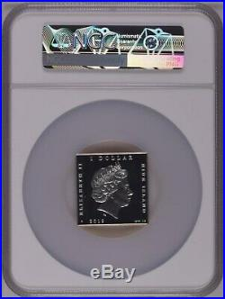 NGC PF70 Niue 2019 World Treasures scream Edvard Munch Colorized Silver Coin