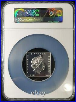 NGC PF70 Niue 2020 World Famous Painting Japan The Hokusai Wave Silver Coin 1oz