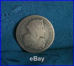Naples Sicily Italian States 1691 Tari 20 Grana World Coin Piastra Italy et