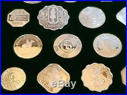 Official Gaming Coins Of The World's Great Casinos Sterling Silver Proof Finish