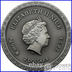 PALMYRA Lost World Cities 2 Oz Silver Coin 2$ Niue 2021