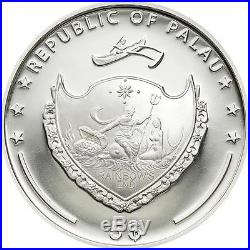 Palau 2010 $5 World of Wonders I St. Basil's Cathedral 25g Silver Proof Coin