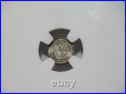 Panama 1904 2 1/2 Centesimos De Balboa Ngc Ms65 Toned Silver World Coin