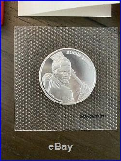 Roger Federer Gold CHF50 and Silver Coin CHF20 Free Shipping Worldwide