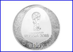 Russia World Cup 2018 FIFA Official Silver Medal Collectible Proof from Korea