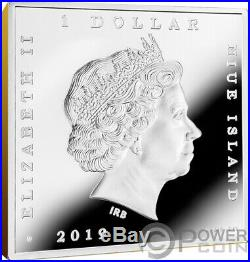 SCREAM Munch Treasures of World 1 Oz Silver Coin 1$ Niue 2019