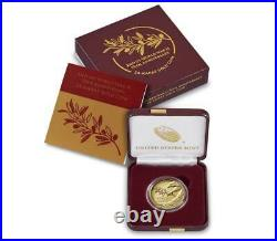 SHIPS TODAY End of World War II 75th Anniversary 24-Karat Gold Coin Silver Medal
