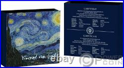 STARRY NIGHT Treasures of World 1 Oz Silver Coin 1$ Niue 2020