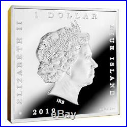 Scream Treasures of World Painting 1 oz Proof Silver Coin 1$ Niue 2019