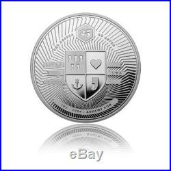 Silver Great Anteater 2018 PP Evolution The wonderful world 4 bullion coin