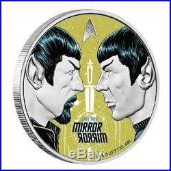 Star Trek The Original Series MIRROR 1oz Silver Proof Coin 3,000 worldwide