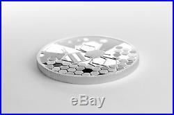 The Silver Bee- the Wonderful World 2019 1 oz 9999 Ag Proof bullion coin