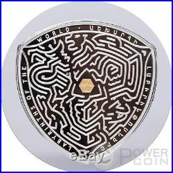 VAALS Labyrinths Of The World 2 Oz Silver Coin 5000 Dram Armenia 2016