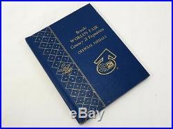 Vtg 1962 SEATTLE WORLD'S FAIR BRONZE MEDALS Not Silver COMPLETE BOOK Art Coins